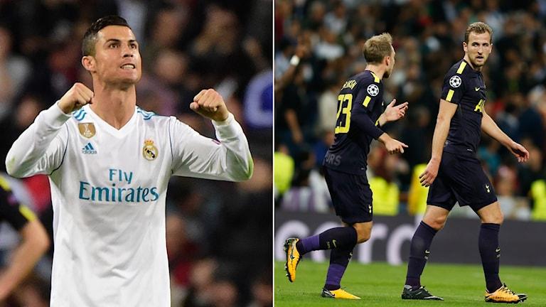Tottenham lyckades kryssa borta mot Real Madrid