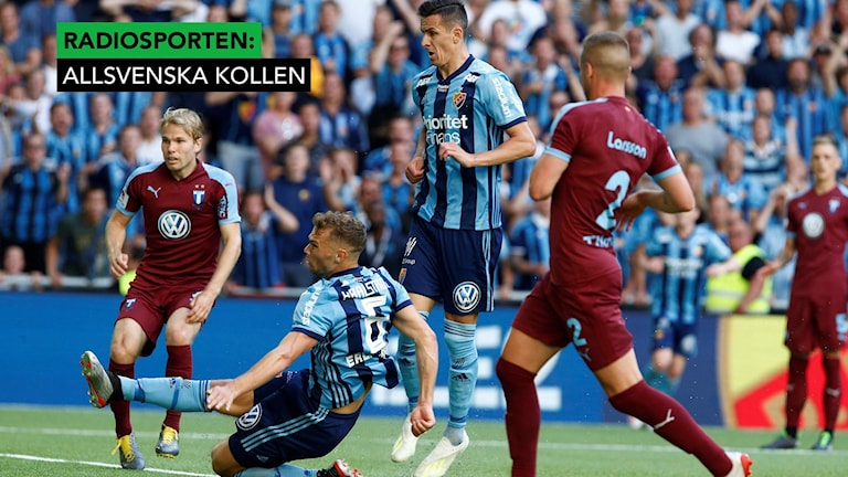 Jesper Karlström sätter 1–1.