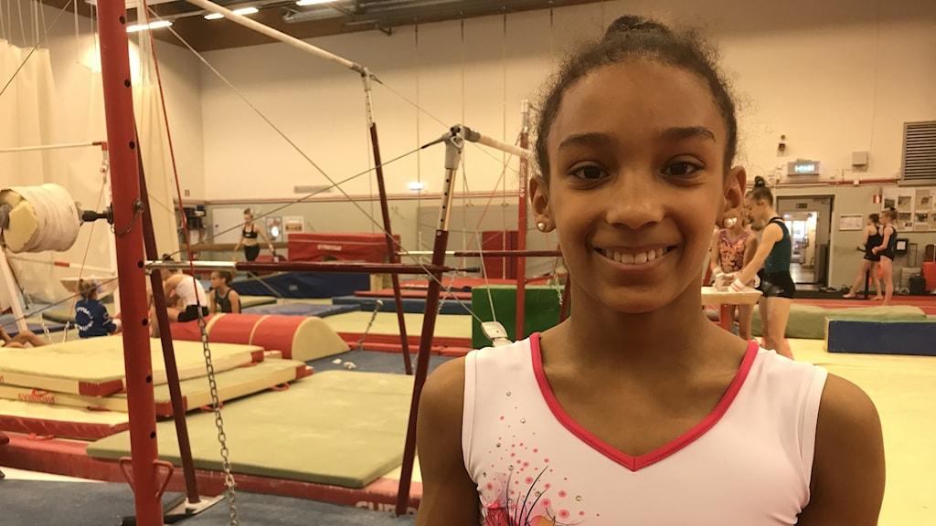 Jennifer Williams gymnast från Eskilstuna.