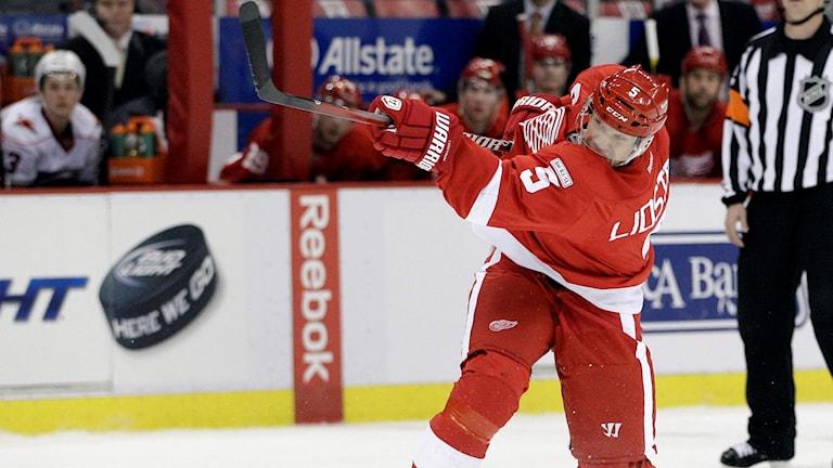 Nicklas Lidström spelade med nummer fem under hela sin NHL-karriär.