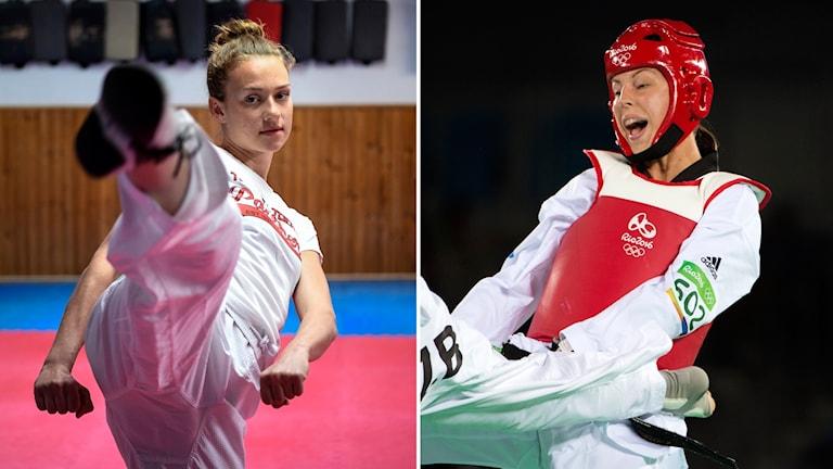 Nikita Glasnovic och Elin Johansson.