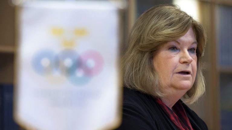 Sveriges Gunilla Lindberg sitter i IOK:s exekutiva kommitté.