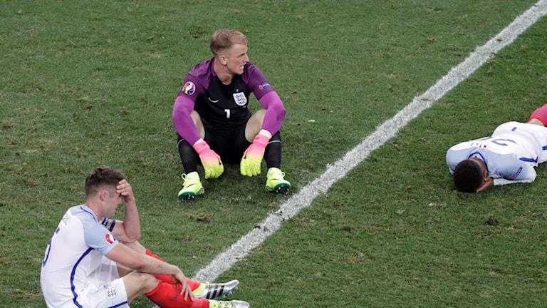 Joe Hart togs inte ut i Englands VM-trupp. Arkivbild.