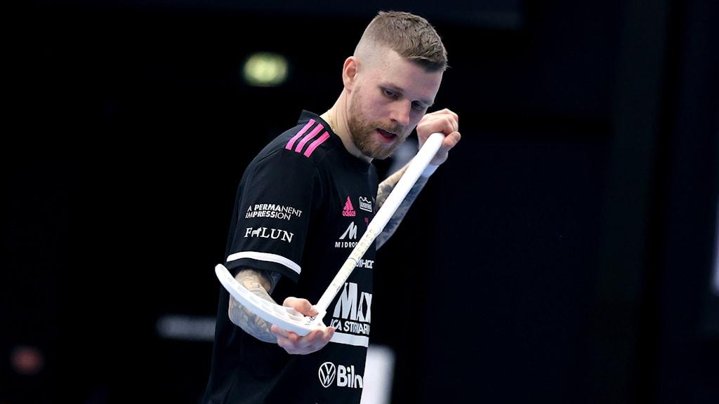 Rasmus Enström i IBF Falun har haft covid-19.