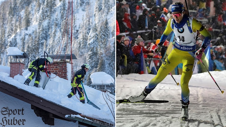 Efter ett katastrofalt snöläge i Tyskland får Hanna Öberg nu tävla.
