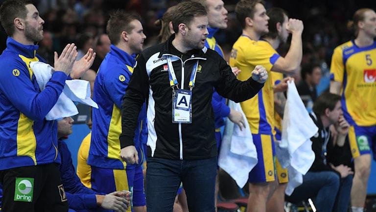 Sverige leder sin EM-kvalgrupp inför kvällens match mot Ryssland.