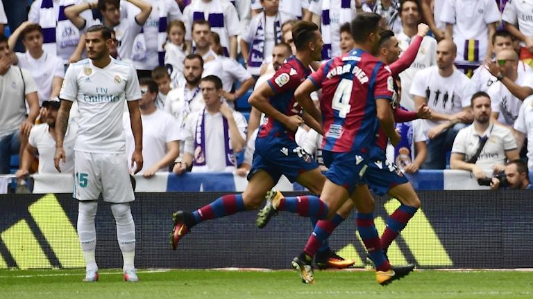 Real Madrid tappade poäng mot Levante.
