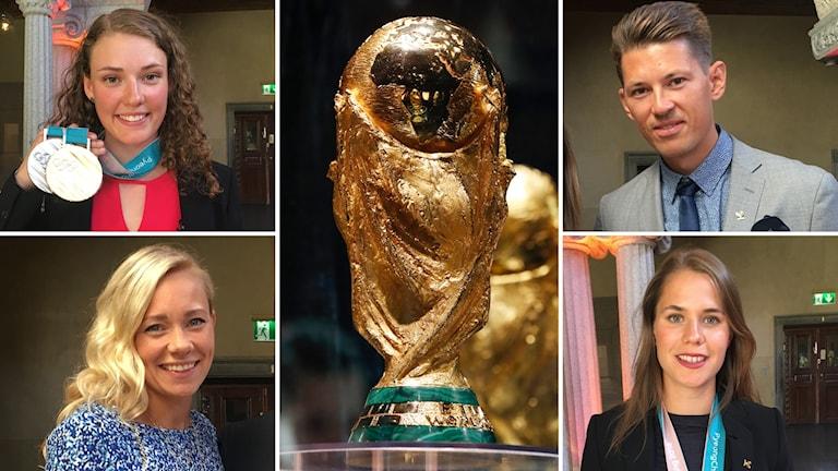 Hur kommer några av Sveriges OS-stjärnorna följa fotbolls-VM?