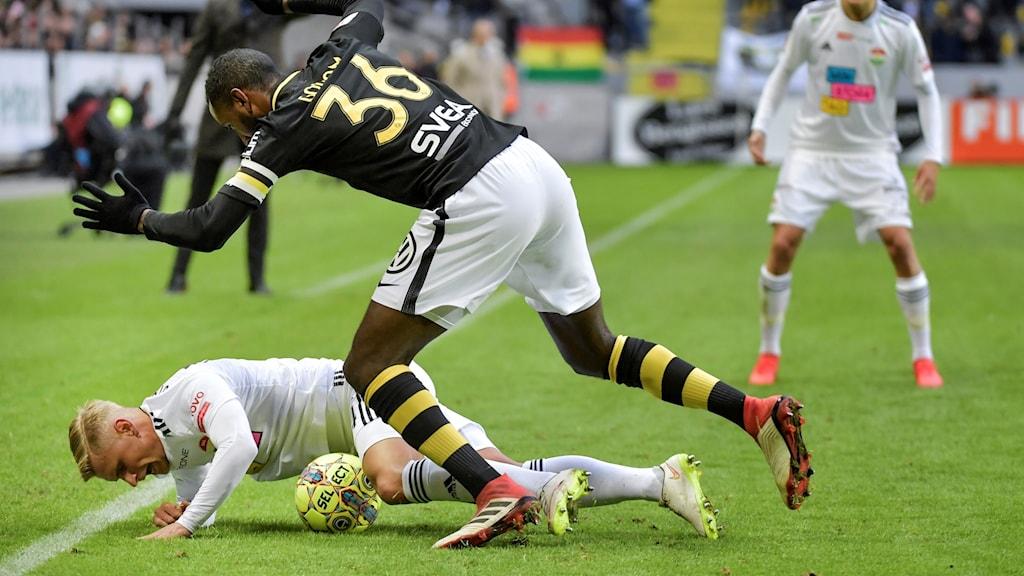 Dalkurd föll mot AIK i premiären.