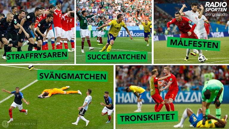 Vilken match har varit bäst i VM?