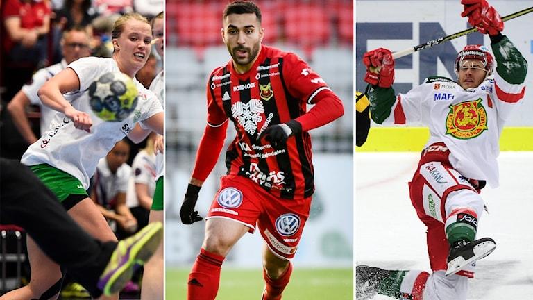 Skuru, Östersund och Mora är tre lag som kommer att höras i lördagens Sportextra.