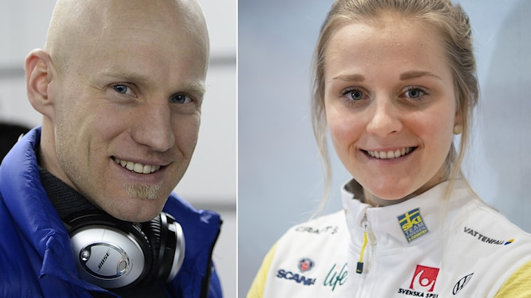 Carl-Johan Bergman och Stina Nilsson.