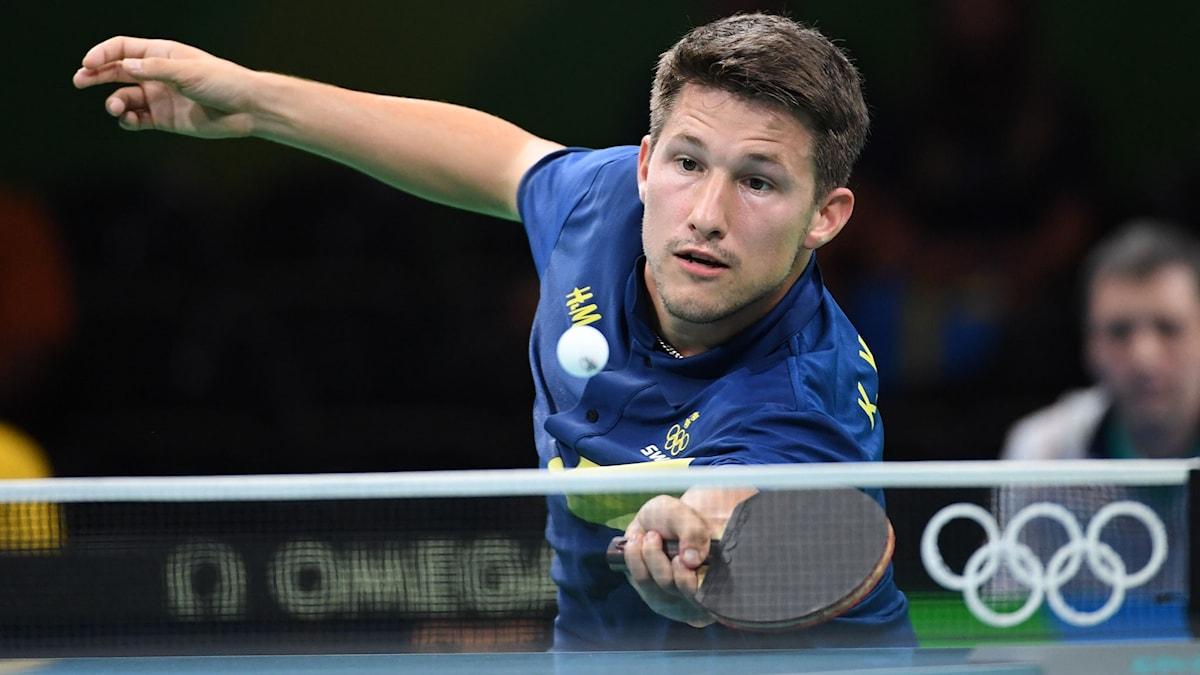 Kristian Karlsson förlorade mot Vladimir Samsonov.