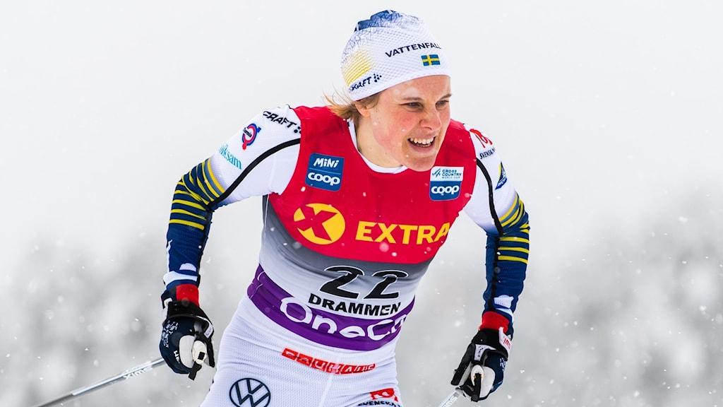 Hanna Falk avslutar landslagskarriären.