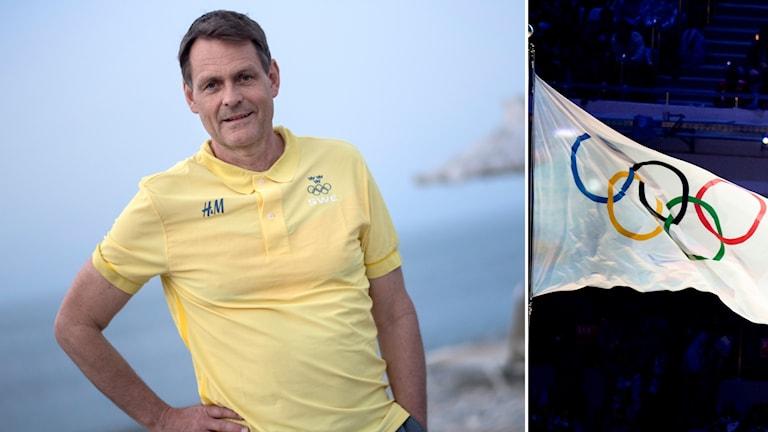 Reinebo på OS-lägret på Kreta.