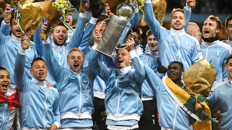 Malmö tog SM-guld 2016.