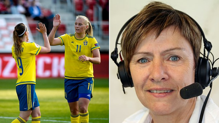 Expert Anette Börjesson efter Sveriges vinst mot Polen.
