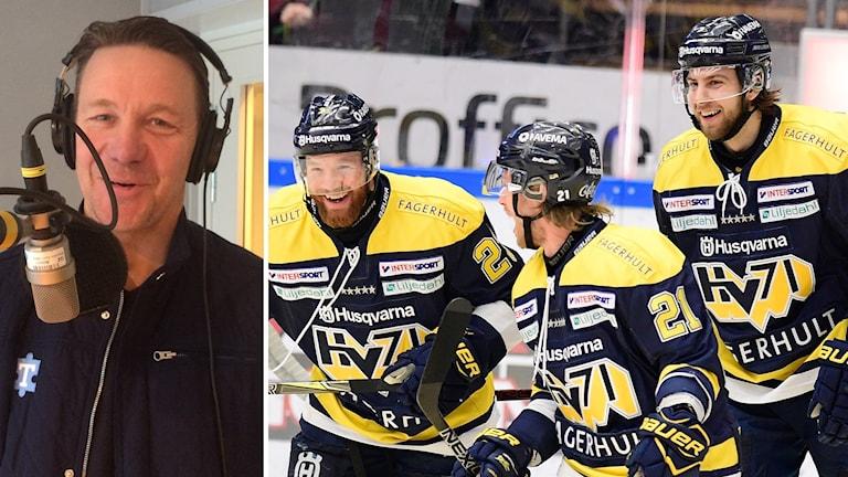 HV71 vinner SM-guld tror Challe Berglund.