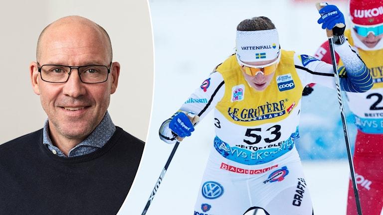 Expert Torgny Mogren och Ebba Andersson.