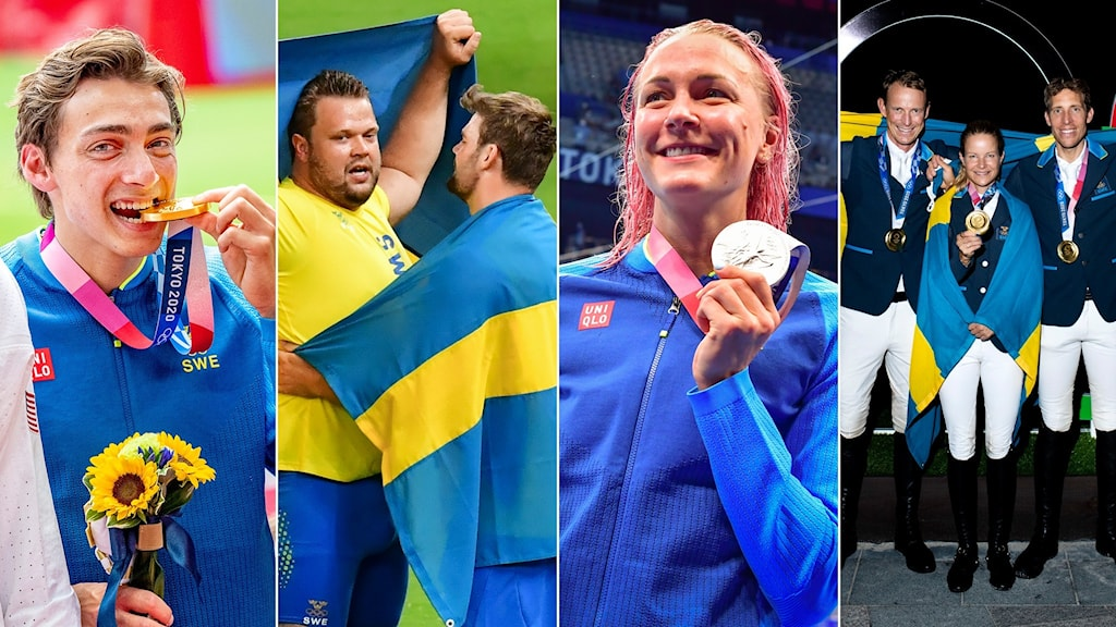 Svenska medaljer