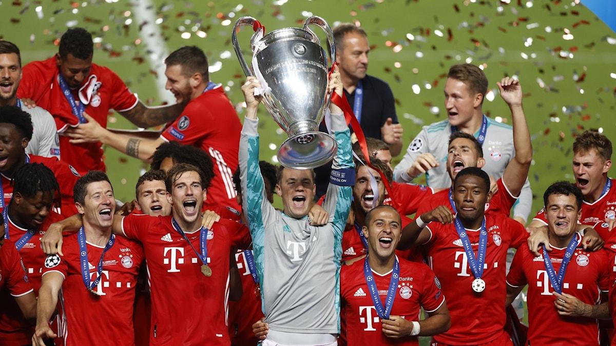 Bayern München Champions League-titel 2020. Foto: Matthew Childs/AP