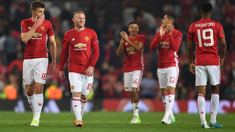 Manchester United spelar final på Friends.