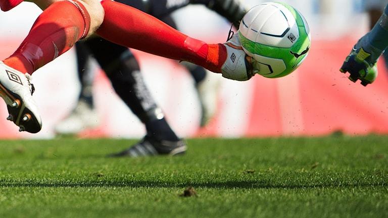 Fotboll (genrebild).