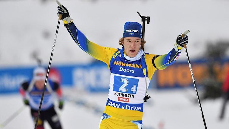 Sebastian Samuelsson gick i mål som segrare.