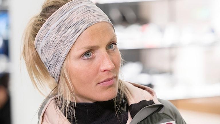 Therese Johaug lämnade ett positivt dopningsprov i september i fjol.