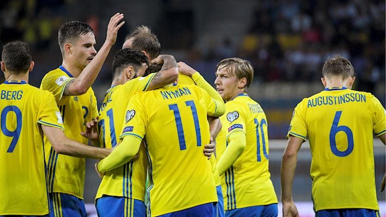 Sverige krossade Vitryssland