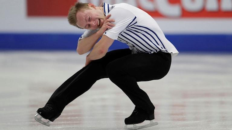 Alexander Majorov hade en tung final i Helsingfors.