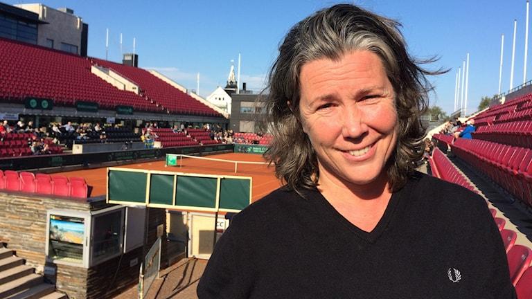 Maria Strandlund-Tomsvik, seniorlandslagsansvarig för svensk tennis.
