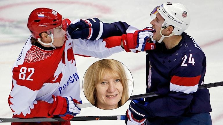 USA-reaktioner på Rysslands OS-avstängning. Foto: TT och Sveriges Radio