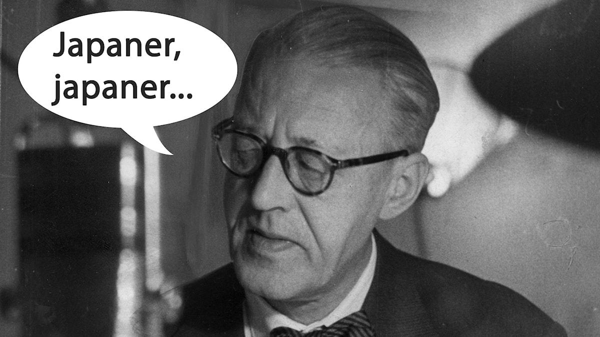 Sven Jerring gjorde ett klassiskt referat 1936.