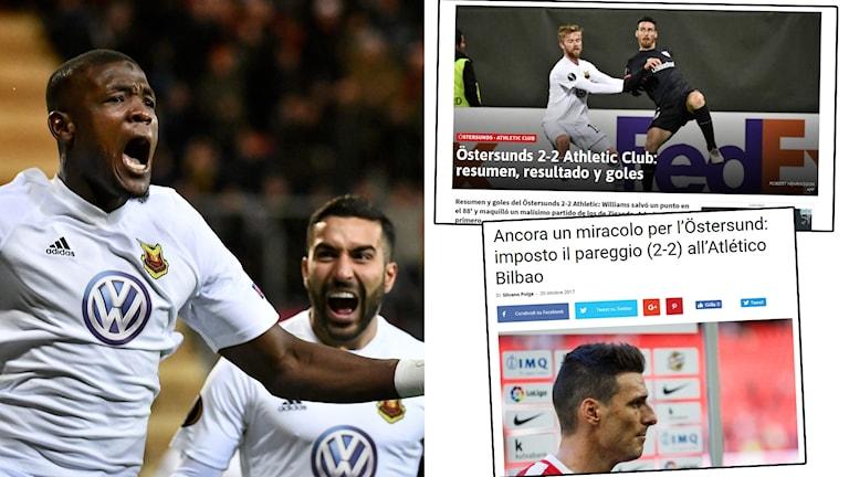 Östersund hyllas i spanska medier