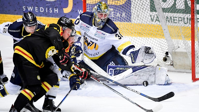 Andra SM-finalen mellan Brynäs och HV71.
