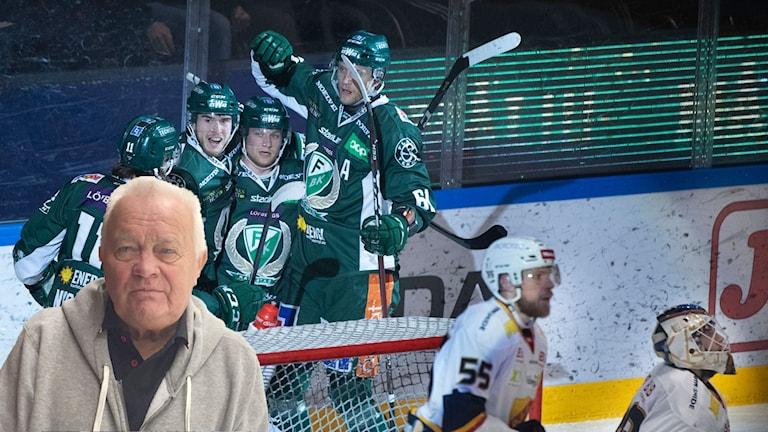 L-G Jansson Färjestad-Djurgården. Foto: SR och TT