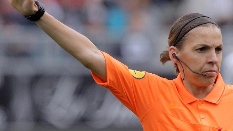 Stéphanie Frappart dömer Supercupfinalen.