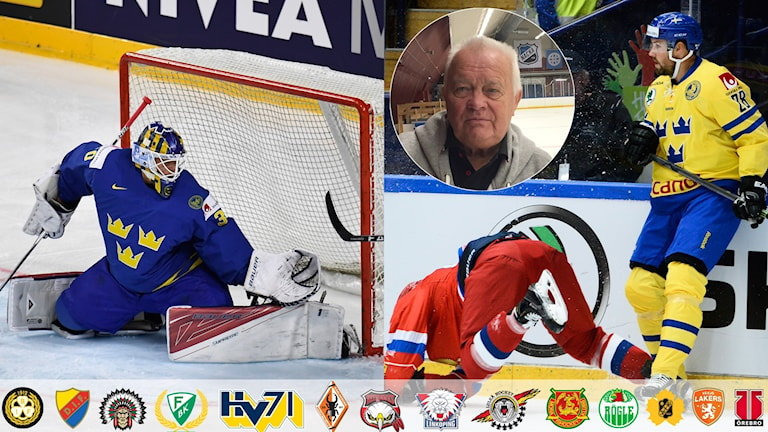 Collage L-G Janssons listar bästa nyförvärven. Foto TT, collage SR