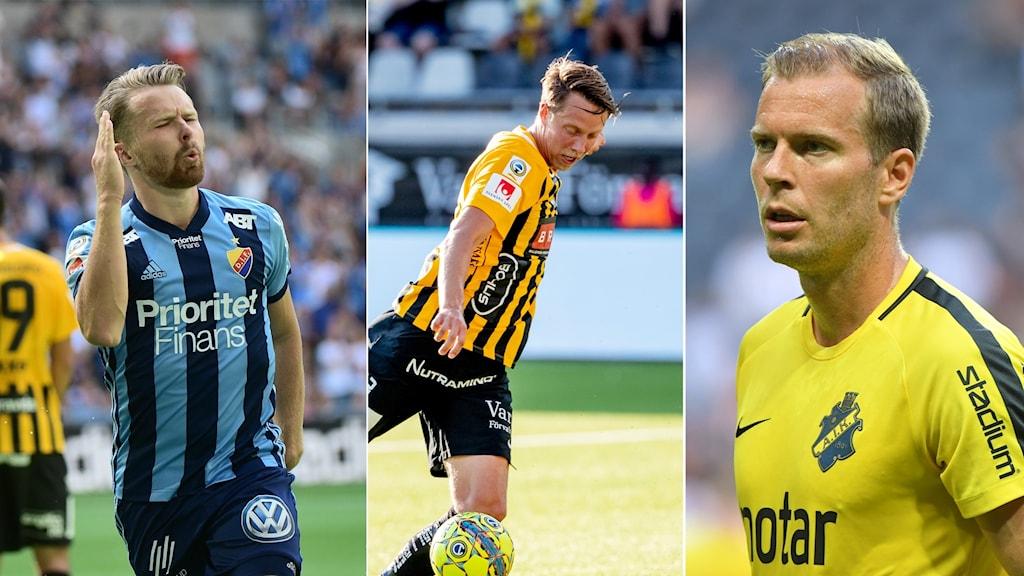 Djurgården, Häcken och AIK kvalar i Europa Leauge.