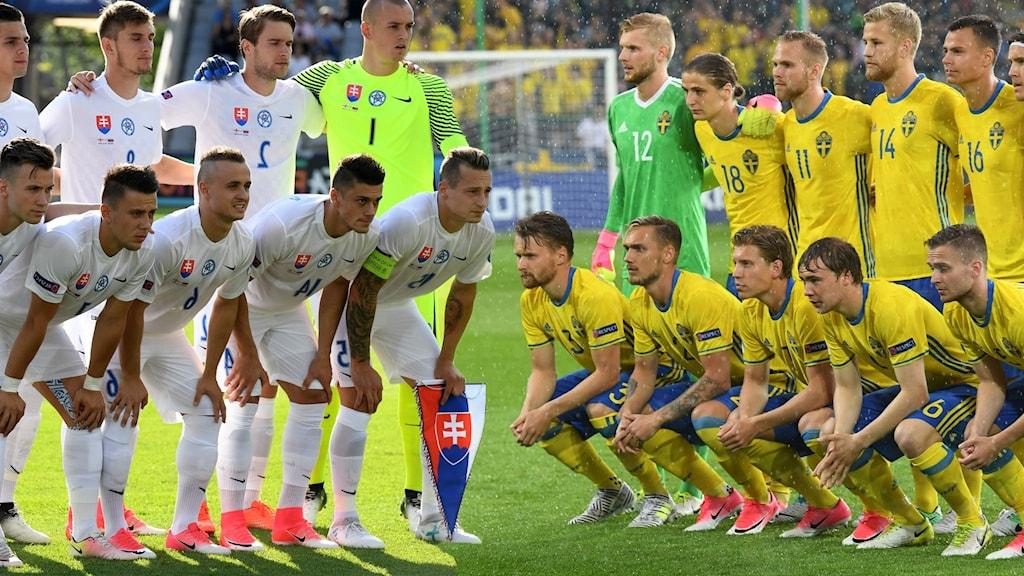 Matchguide: Slovakien–Sverige - Radiosporten | Sveriges Radio