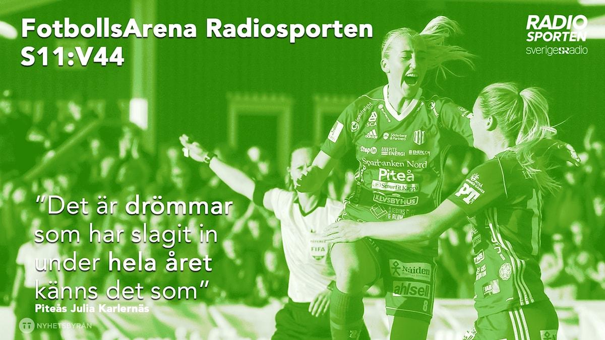 Piteås Julia Karlernäs gästar veckans FotbollsArena.