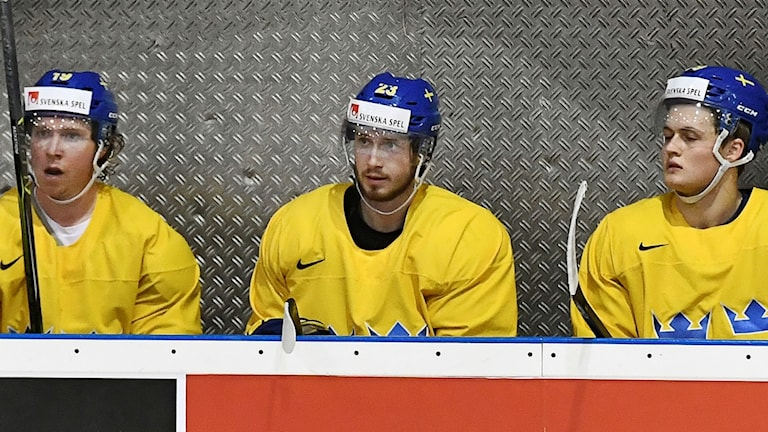 Nicklas Bäckström, Oliver Ekman-Larsson och Wiliam Nylander.