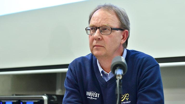 Stefan Olsson, friidrottsförbundets generalsekreterare