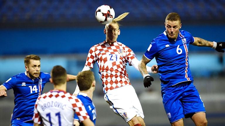 Kroatien slog Island i VM-kvalet.