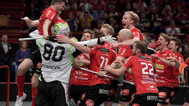 Storvreta tog SM-guld våren 2018.