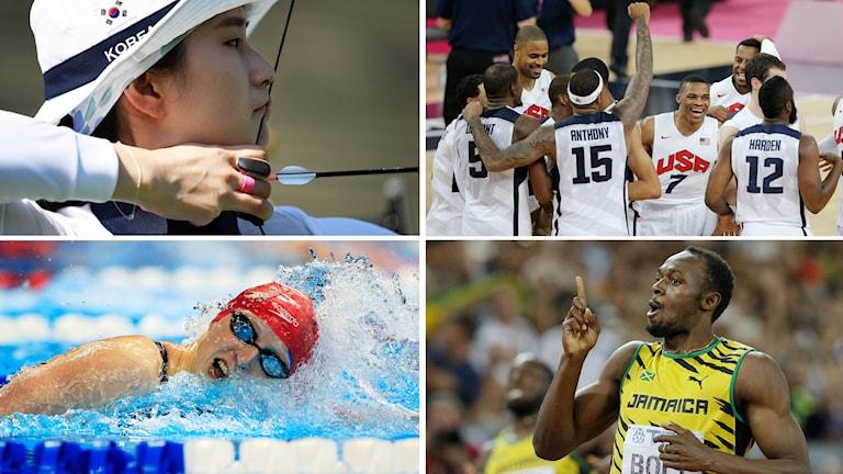 collage 10 guldfavoriter i OS