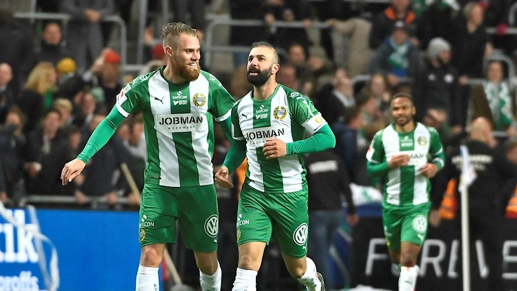 Hammarby besegrade Göteborg.