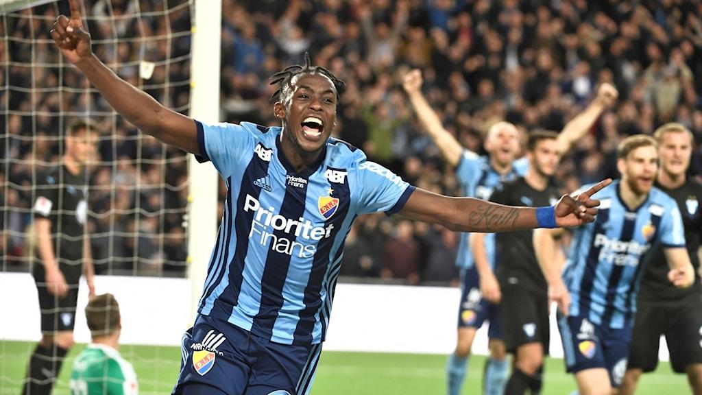 Tino Kadewere och hans Djurgården knockade Malmö FF.