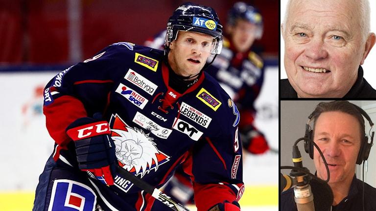 Lars-Gunnar Jansson och Challe Berglund är besviken på Tony Mårtenssons comeback i Linköping.